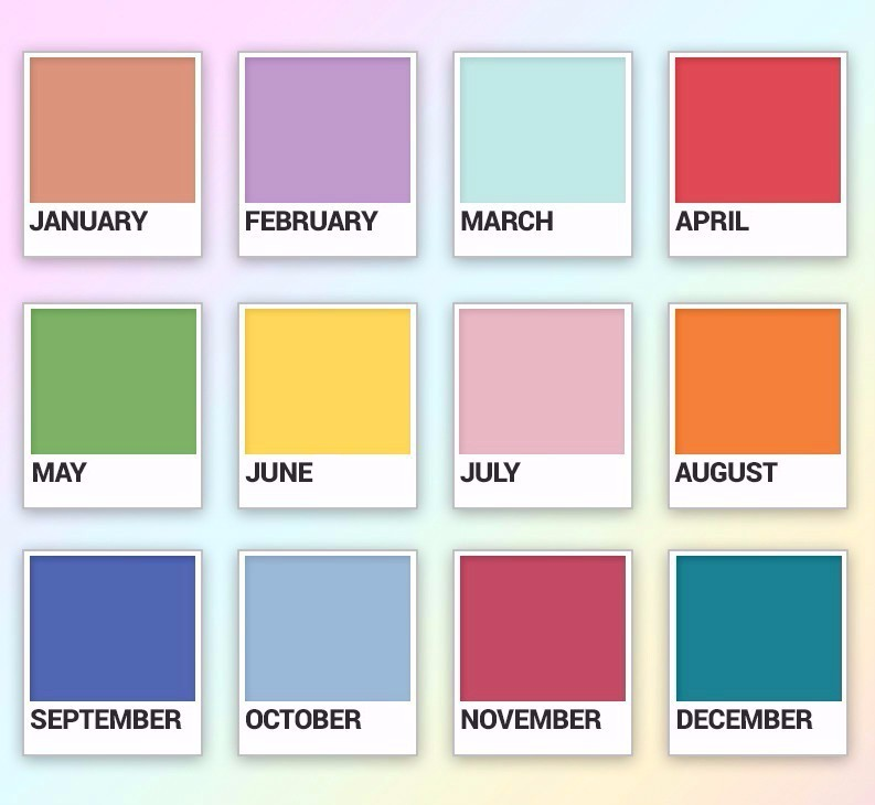 Did You Know Your Birth Month Color Says Everything About