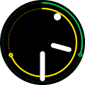 Nav Fit : Personal Goals Watch Face Wear OS APK