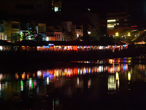 Photo: Boat Quay nocą / Boat Quay by night