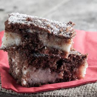 Simple & Delicious Chocolate Coconut Cake.