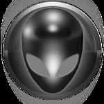 poweramp skin alien grey Icon
