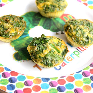 Mini spinach and egg muffins | KID APPROVED and mum-friendly.