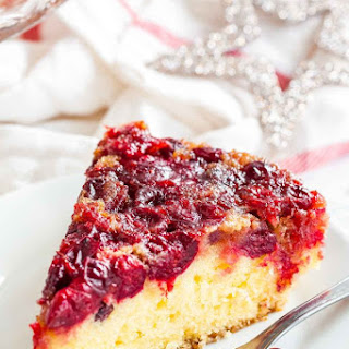 Cranberry Upside Down Cake Recipe