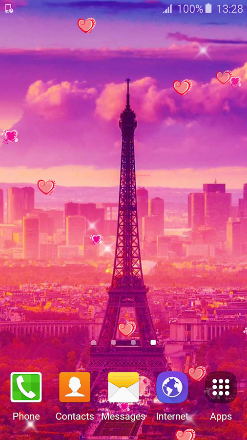 sweet paris live wallpaper hd android apps on google play. Black Bedroom Furniture Sets. Home Design Ideas