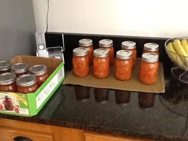Grandma's Chili Sauce Recipe