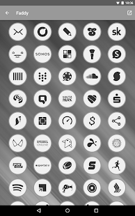 Faddy - Icon Pack Screenshot