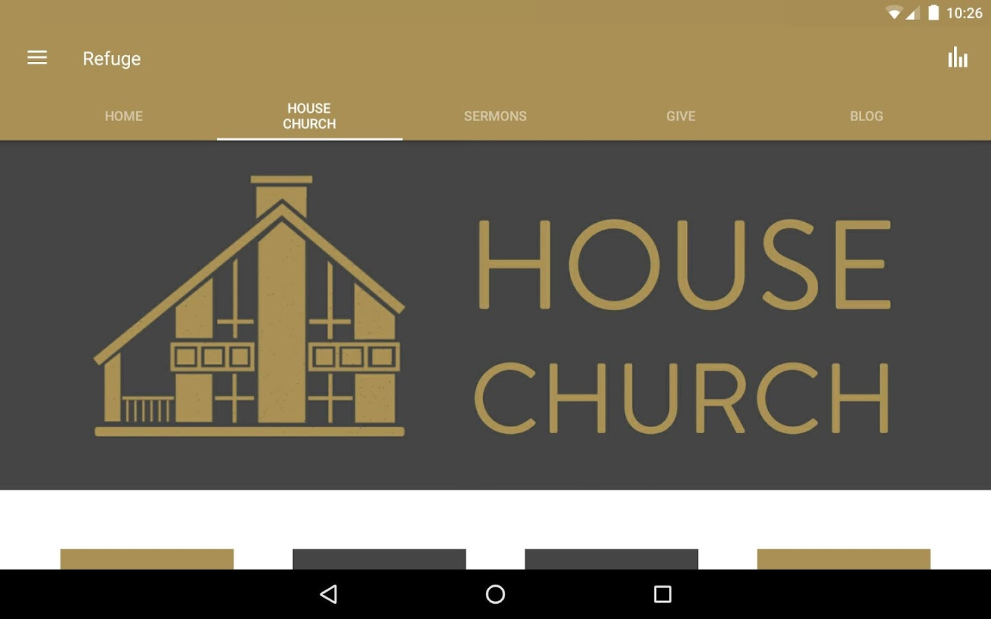 Refuge Church (Ogden, Utah)- screenshot