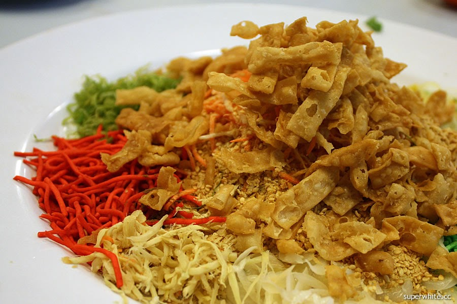Yee Sang with Salmon