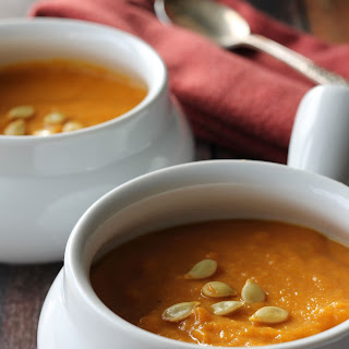 Winter Squash & Pumpkin soup