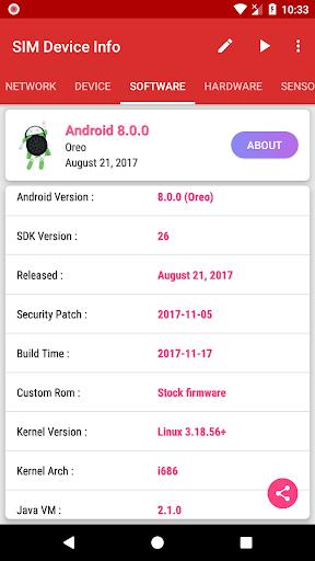 SIM Device Info 1.0.9 screenshots 4