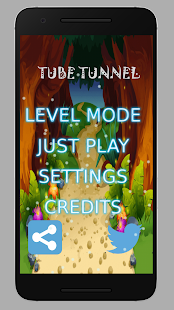 Tube Tunnel - An addictive android puzzle game - náhled