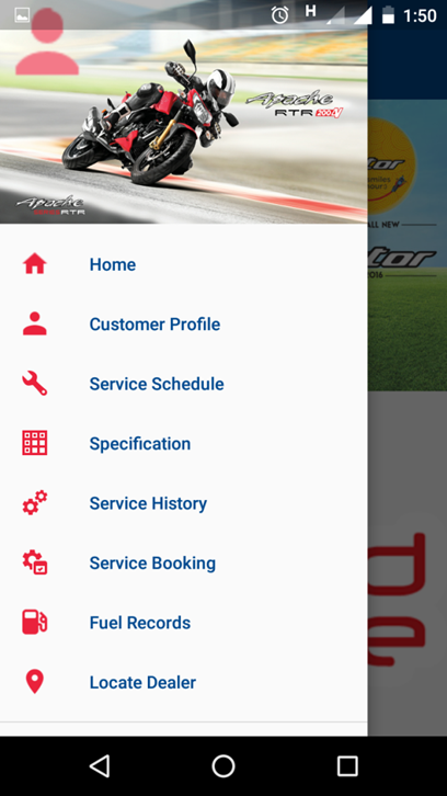 TVSM Service- screenshot