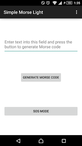 Simple Morse Light
