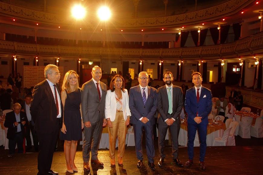 Desayuno-coloquio con Marta Bosquet en el Teatro Cervantes.