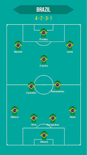 Football Squad Builder - Strategy, Tactic, Lineup 2.4.5 Screenshots 7