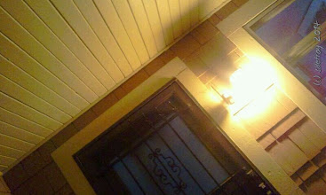 Photo: Grateful for the light on my porch.