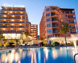 Hotel<br>MS Amaragua ****<br><span style='font-size:12px'>La Carihuela, Torremolinos</span>