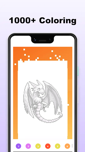 Pokepix Color By Number - Art Pixel Coloring 1.0.6 screenshots 1