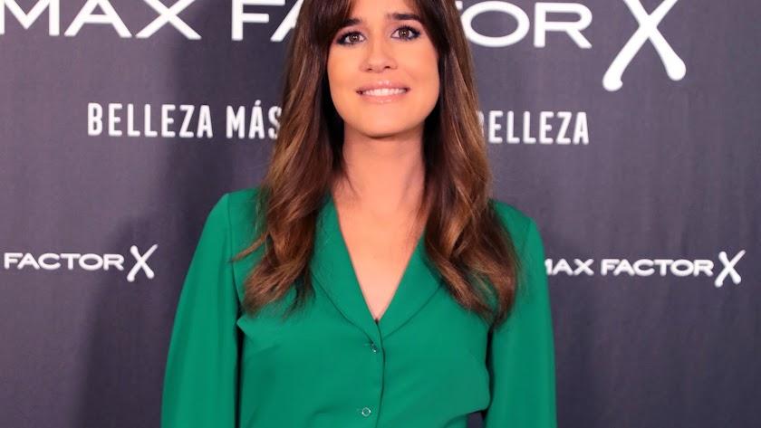 Isabel Jiménez, en un acto promocional.