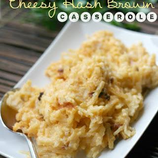 Crockpot Cheesy Hash Brown Casserole.