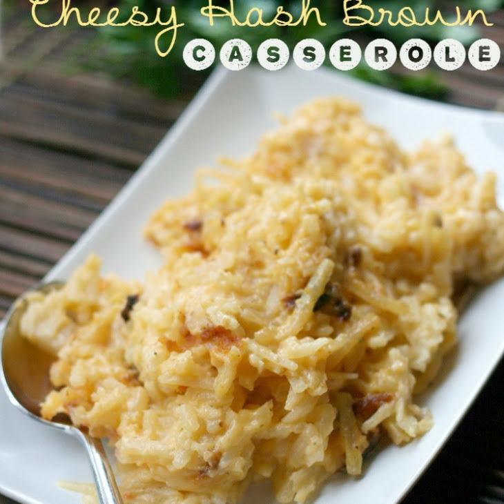 Crockpot Cheesy Hash Brown Casserole Recipe