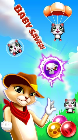 android Witch's Cat Bubble Pop Screenshot 7