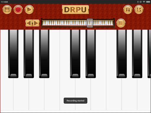 Piano Keyboard Music Pro - DRPU PIANO Learning App  screenshots 9