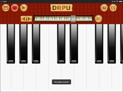 Piano Keyboard Music Pro - DRPU PIANO Learning App Screenshot