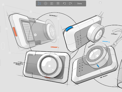 Autodesk SketchBook Capture d'écran