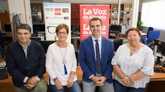 Cuatro de los candidatos a la alcaldía de la capital.