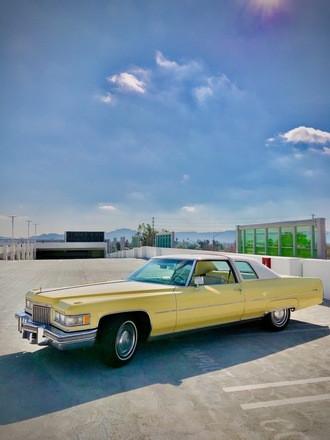 1975 Cadillac Coupe De Ville Hire Los Angeles