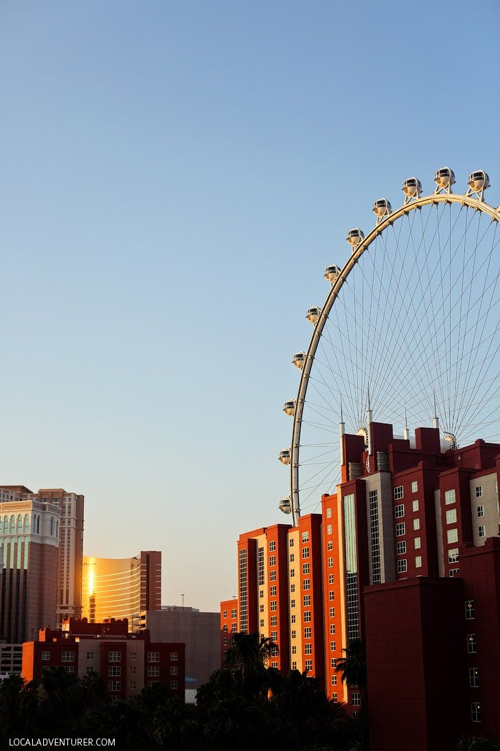 The High Roller Las Vegas - The Biggest Ferris Wheel in the World 2015.