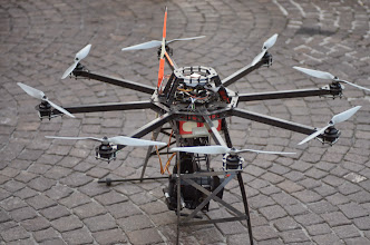 Photo: Stefano Puzzuoli drone CNR inaugurazione IF