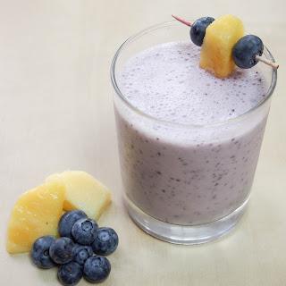 Blueberry Pina Colada