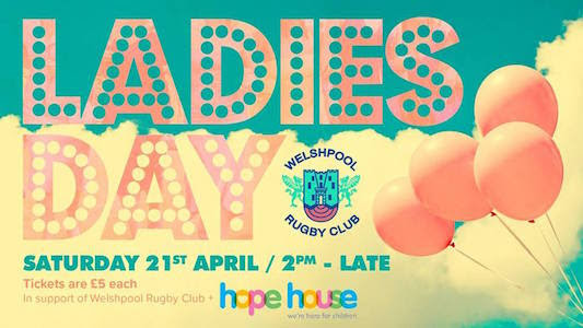 Ladies Day at rugby club