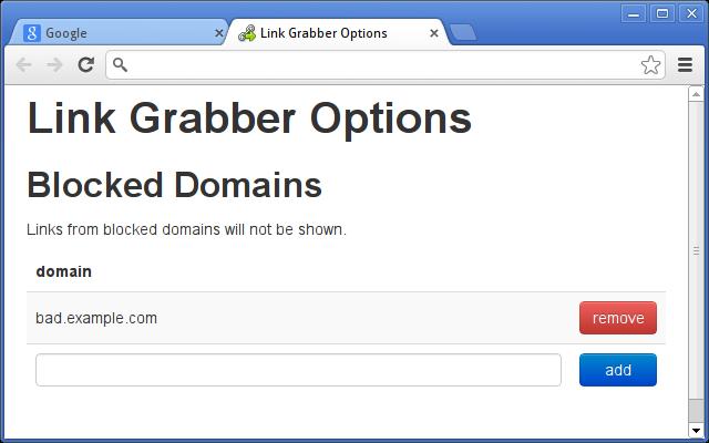 Link Grabber