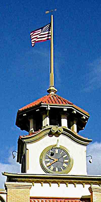 Old City Hall Steeple - Gilroy California
