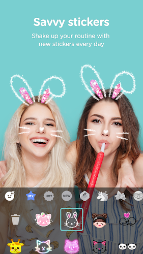 B612 - Beauty & Filter Camera Android App Screenshot