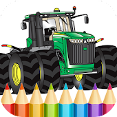 Tractors Coloring Pages Game