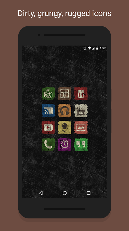 Ruggy - Icon Pack- screenshot