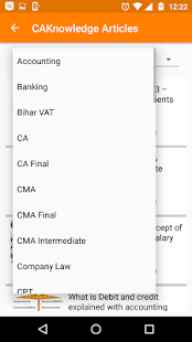 App For CA, ,CS, CMA, CPT IPCC Final, Tax, GST,- screenshot thumbnail
