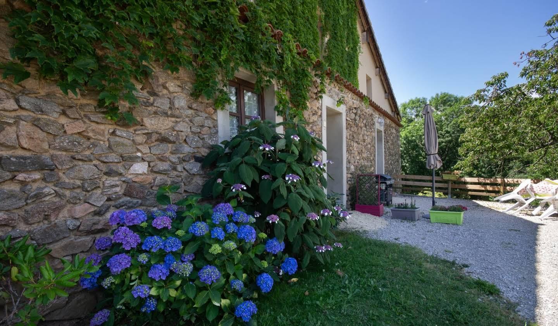 Maison avec piscine et terrasse Alboussière
