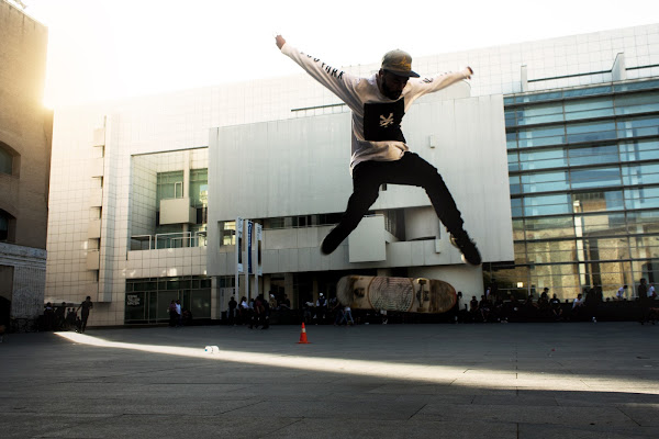 Skaters al MACBA di Irene Guarneri
