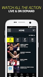 DAZN Live Fight Sports: Boxing, MMA & More APK screenshot thumbnail 6