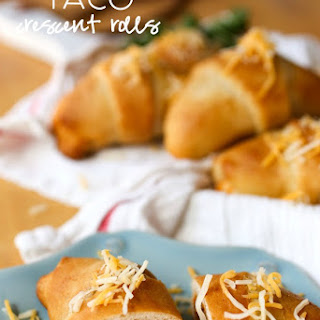 Taco Roll With Crescent Rolls Recipes.