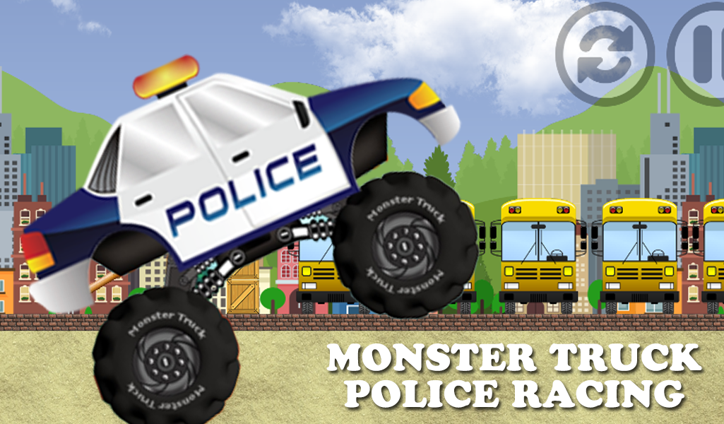 Police Monster Truck Racing Android Apps On Google Play