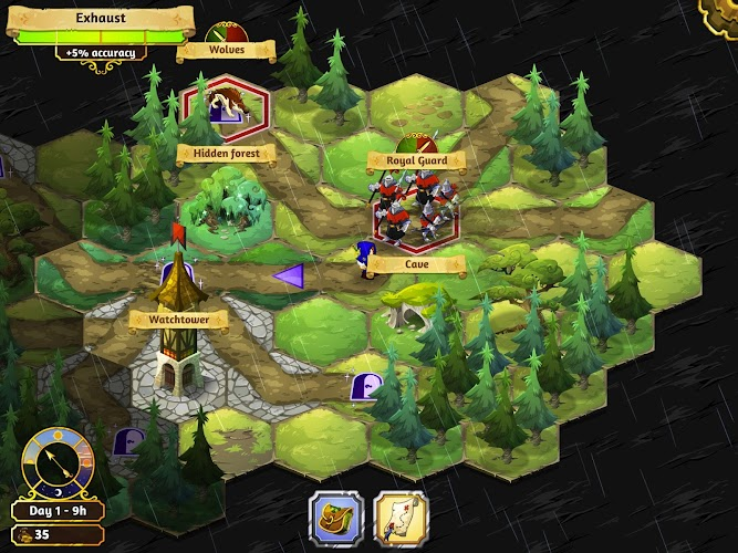 Crowntakers - screenshot
