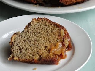 Caramel Apple Upside-down Cake Recipe