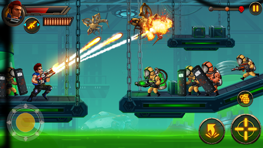 Metal Squad MOD 1.5.4 (Unlimited Coins/Bullets/HP/Bombs/No-Ads) Apk 3
