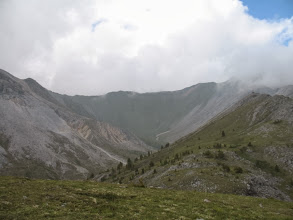 Photo: Вид на север (на цирк пер. Идель) с пер. Обзорного